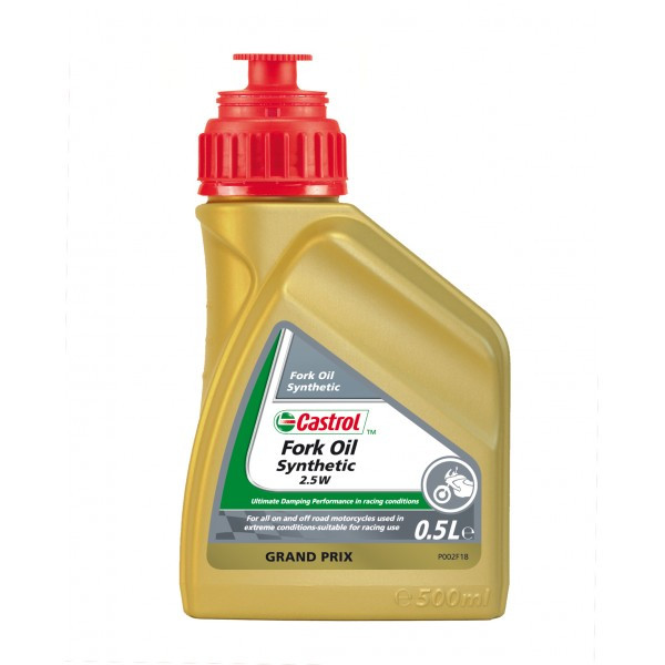 Aceite Castrol Synthetic Fork Oil 2.5W 500ML