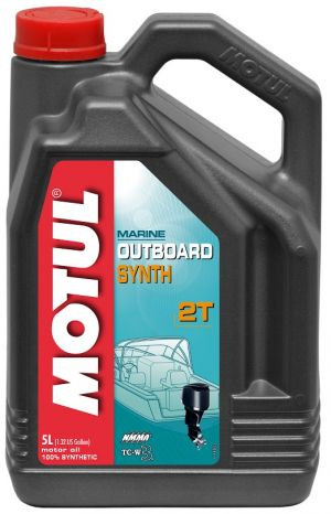 Aceite MOTUL Outboard Synth 2T 5L