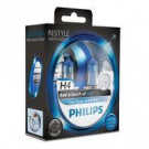 Pack 2 lámparas Philips H4 12V 60/55W Color Vision Azul