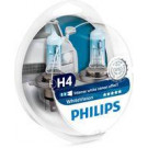 Pack 2 lámparas Philips H4 12V 60/55W White Vision