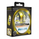 Pack 2 lámparas Philips H7 12V 55W Color Vision Amarillo