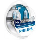 Pack 2 lámparas Philips H7 12V 55W White Vision