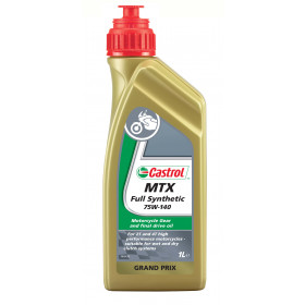 Aceite Castrol MTX Full Synthetic 75W140 1L